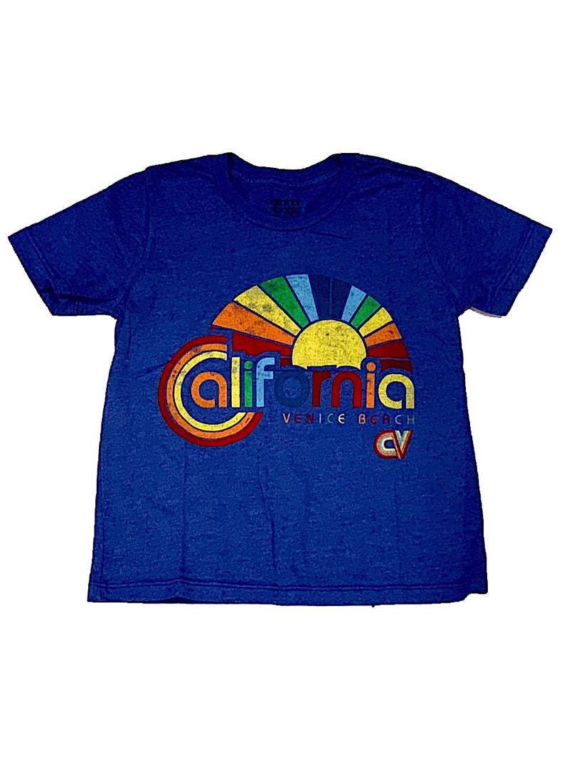 Californian Vintage Royal California Sun Tee Shirt