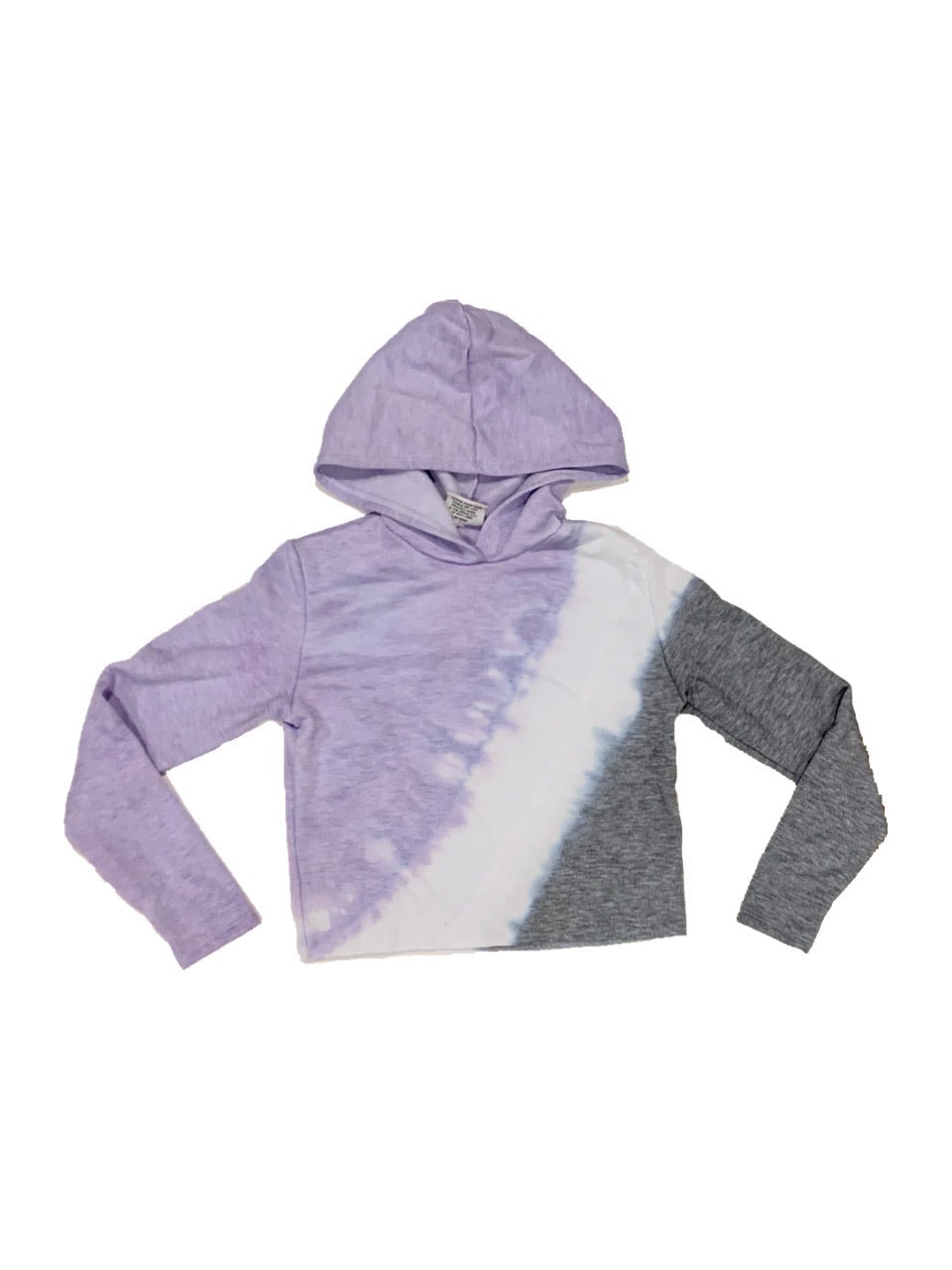 Firehouse Prince Tie Dye Crop Pullover