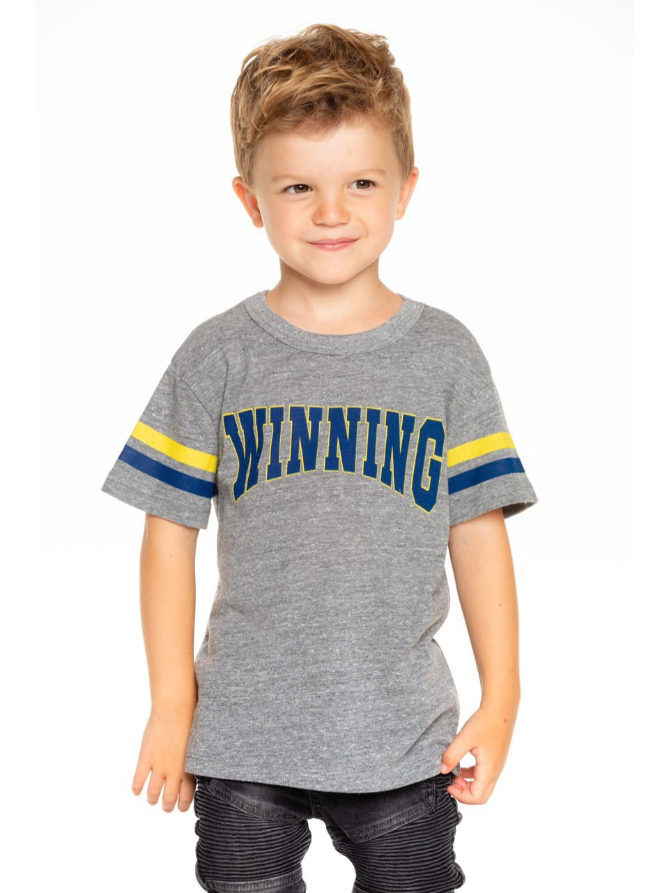Chaser Boys Grey Winning Tee Shirt