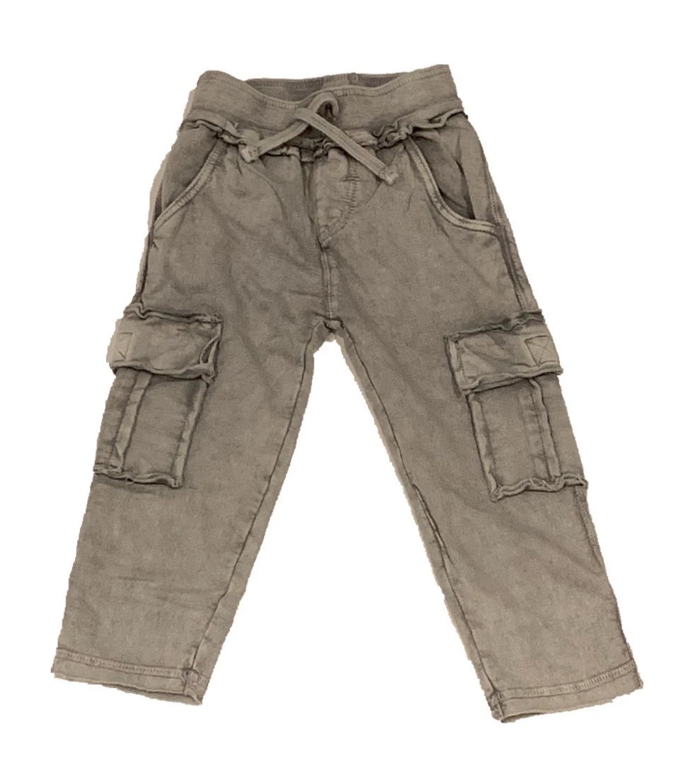 Mish Mish Coal Enzyme Cargo Pant