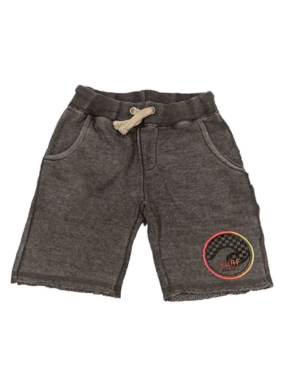 Vintage Havana Boys Steel Grey Shorts Surf All Day