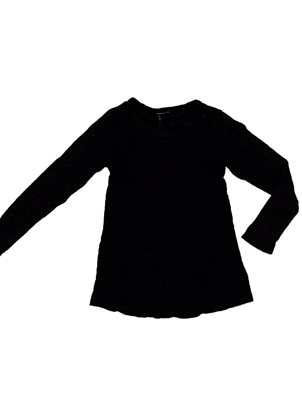 LA MADE BLACK L/S SEAM TEE