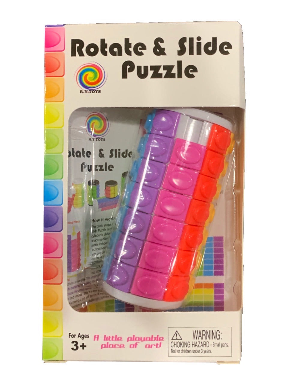 Rotate and Slide Puzzle