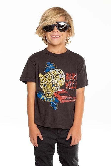 Chaser Boys Born Wild Tee Shirt
