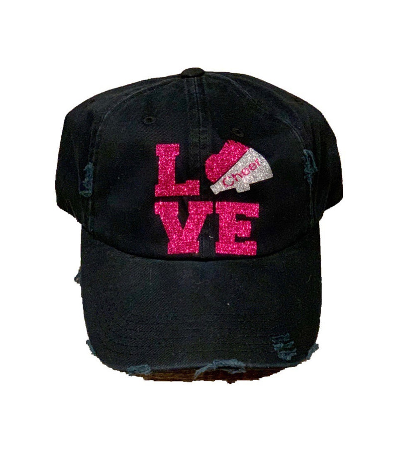 Distressed Cheer Hat