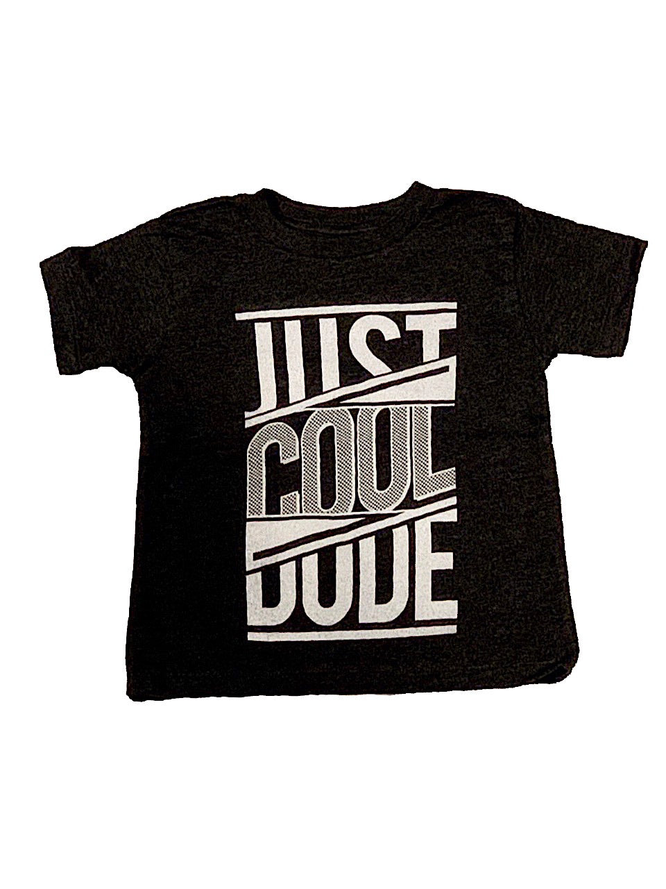 O.M.M Heather Charcoal Just Cool Dude T-Shirt