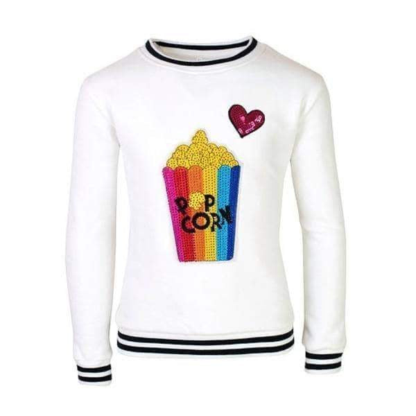 Lola and The Boys I Love Popcorn Sweatshirt