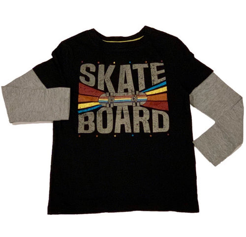 Crumbs Black Skateboard Shirt