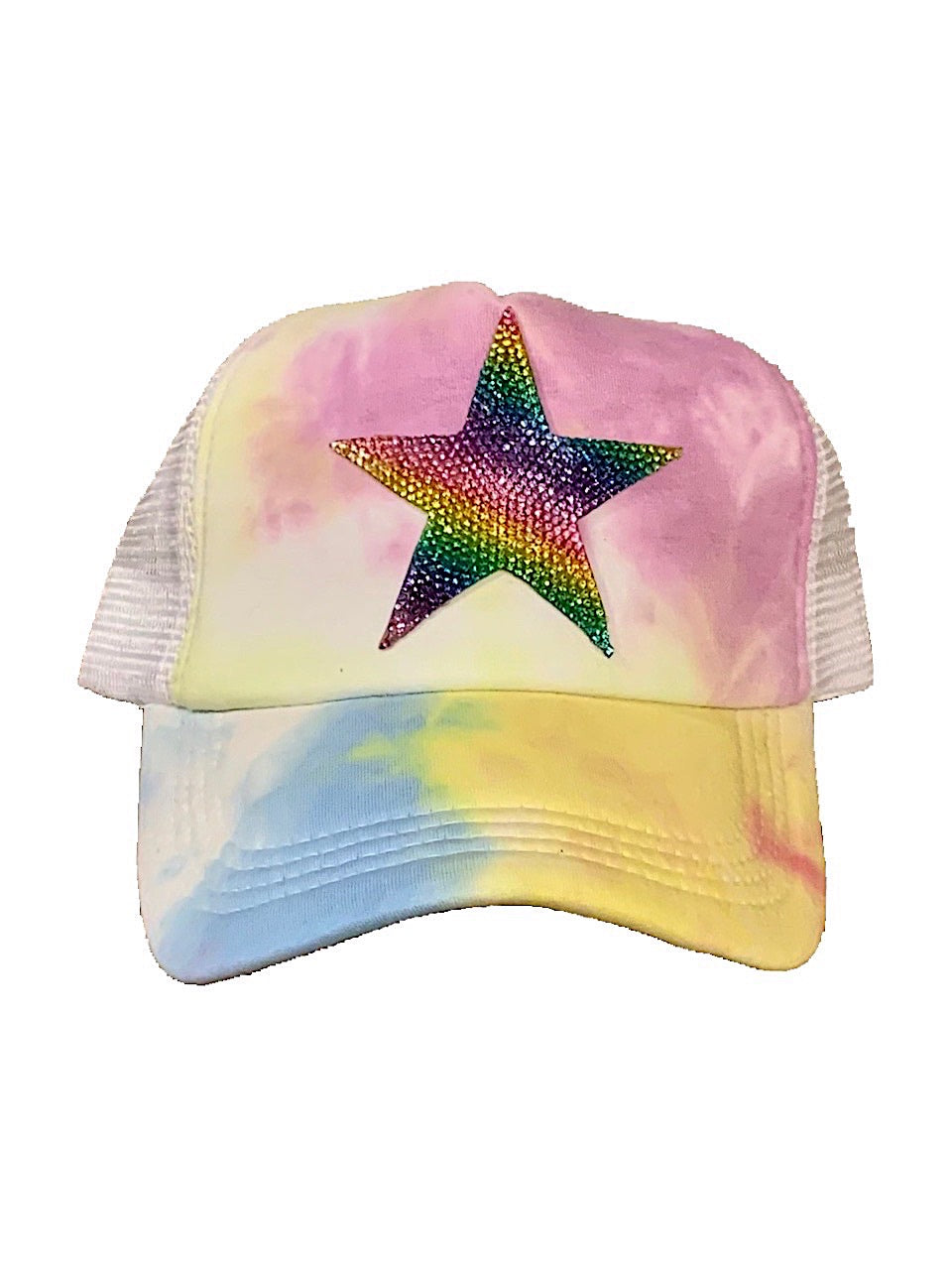 Crystallized Star Emoji Trucker Hat