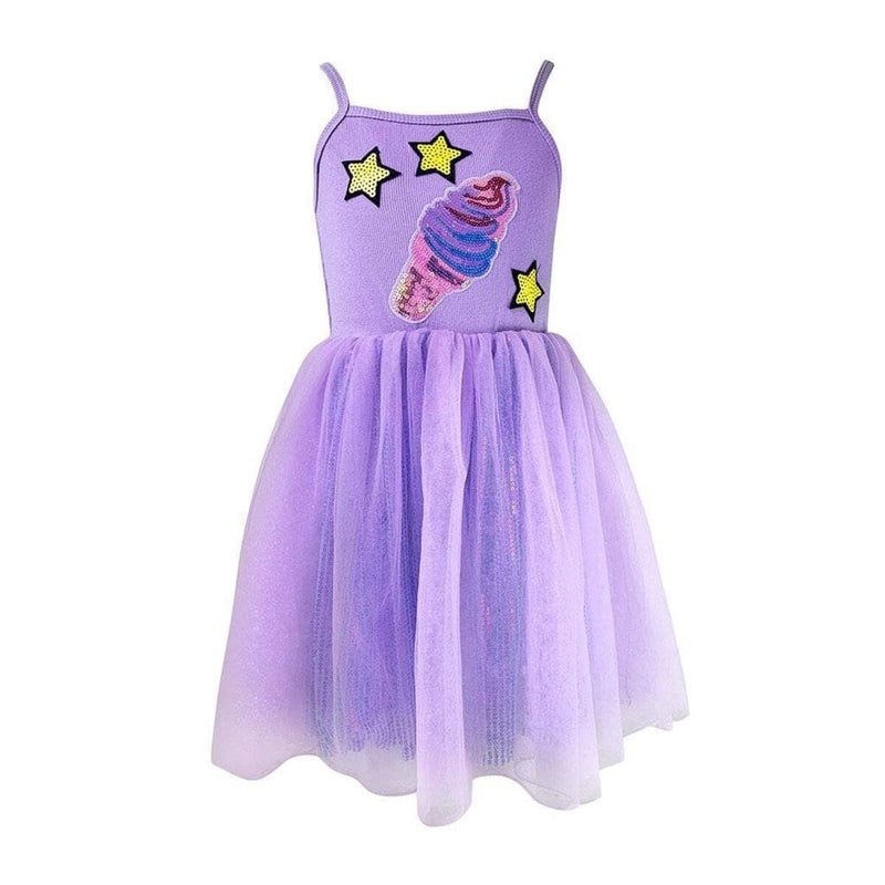 Lola and The Boys Shimmer Ice Cream Tutu Dress