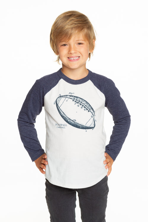 Chaser Boys Football Sketch Blocked Jersey