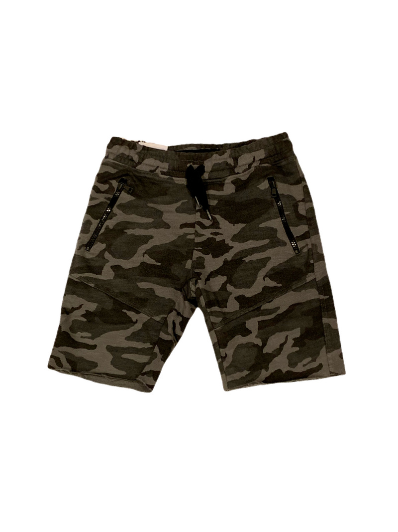 Joe's Jeans Boys Grey Camo Jogger Shorts