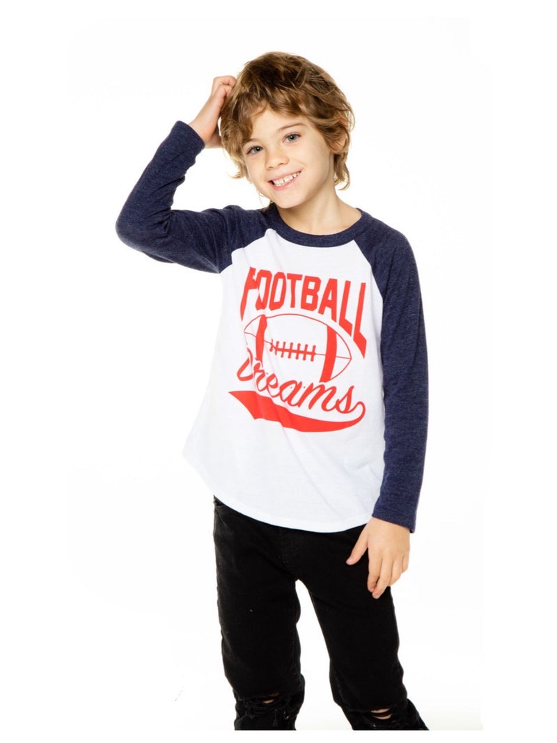 Chaser Boys L/S Football Dreams