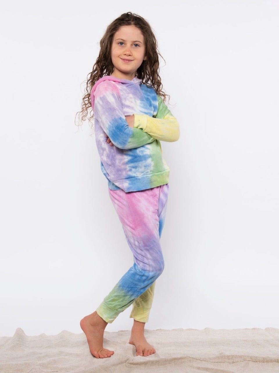 Mermaid Tie Dye Cozy Pant