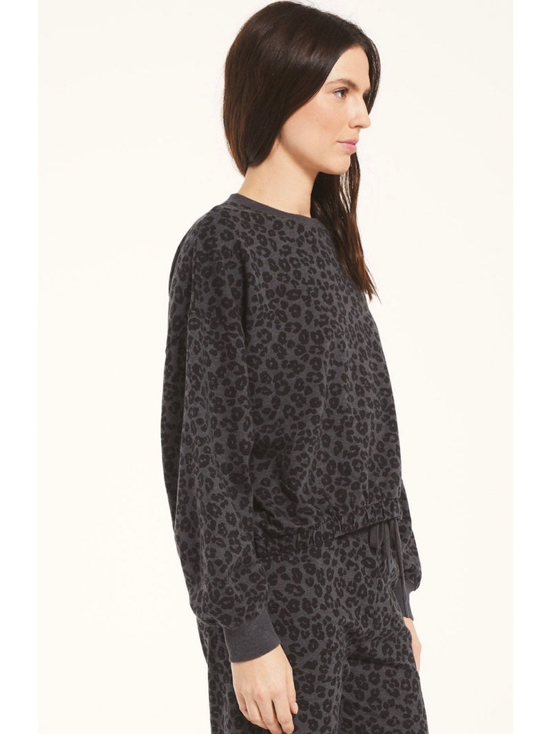 Z Supply Mason Leopard Pullover