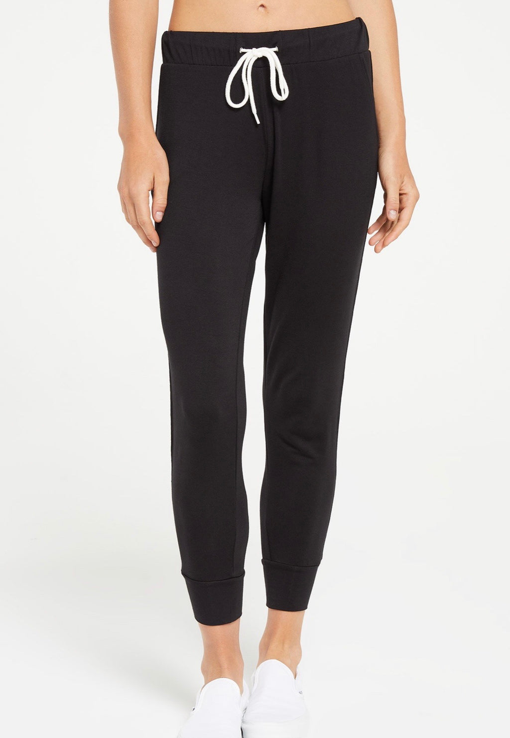 Z Supply Women Halden Jogger Black