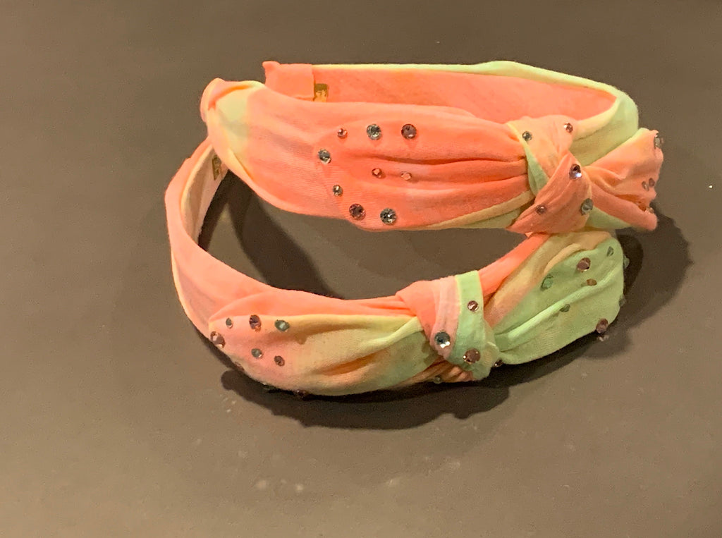 Crystallized Bright Knot Headband