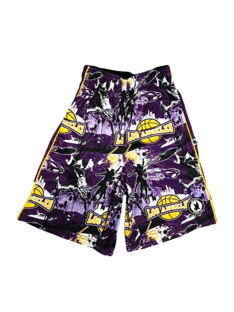 FLOW SOCIETY LA BASKETBALL FLOW SHORTS