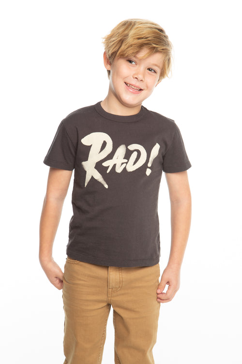 Chaser Boys Black Short Sleeve Rad Tee
