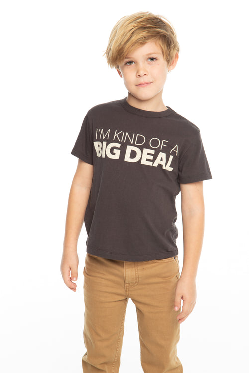 Chaser Boys Black I'm Kind Of A Big Deal Tee