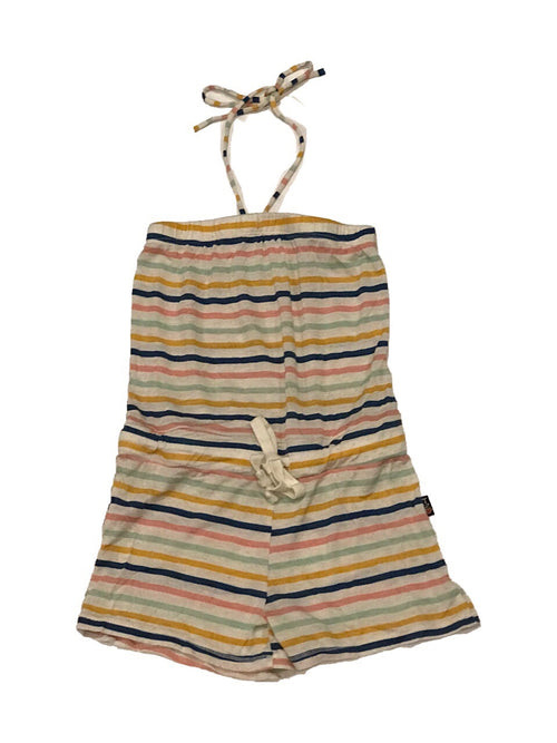 T2Love Multi Stripe Halter Romper