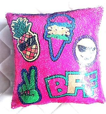 Unicorn BFF Reversible Sequin Pillow