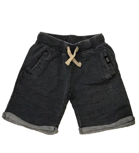 Vintage Havana Boys Burnout French Terry Cuff Shorts - Navy
