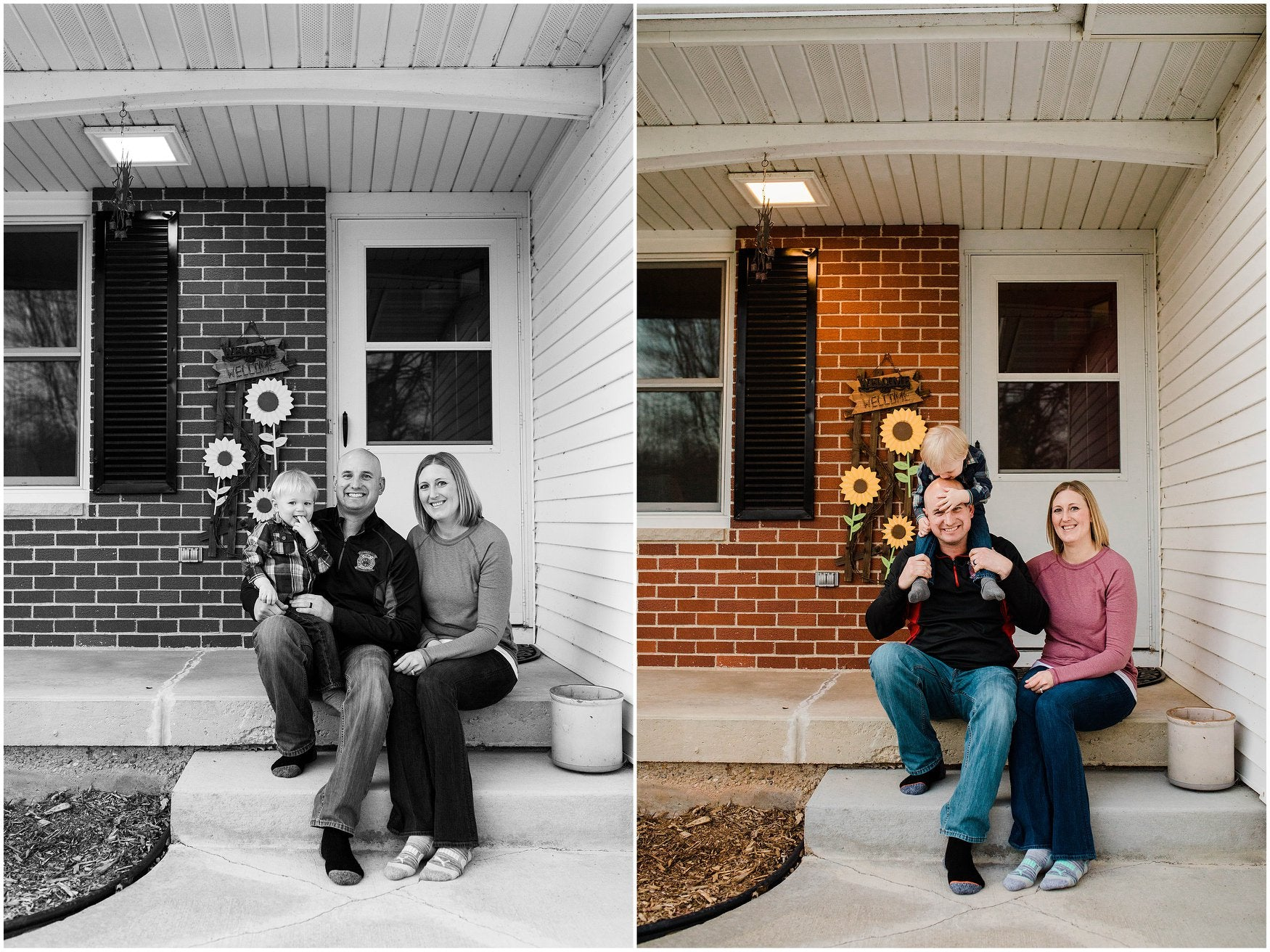 "Front Porch Photo Sessions: How photographers and families are adapting to social distancing with the ""Front Steps Project"""