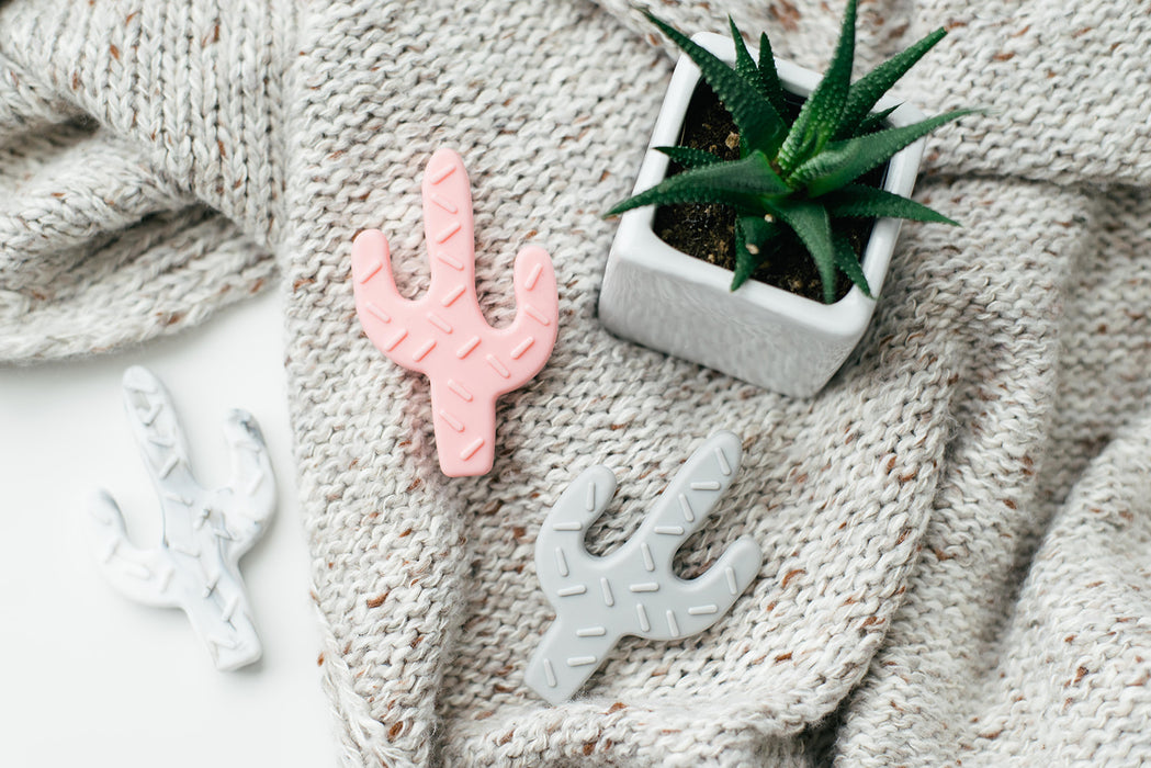Cactus Silicone Teething Toy - Babe Basics