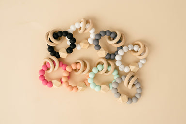 Hex Teething Rattle - Babe Basics