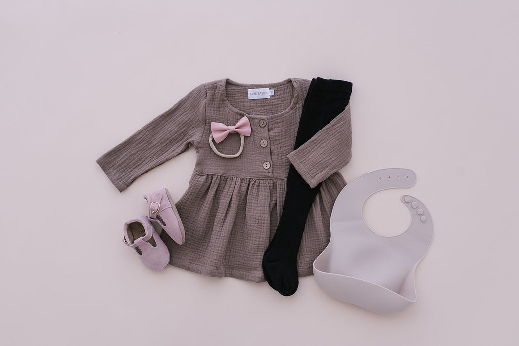 Cotton Baby Dress - Babe Basics