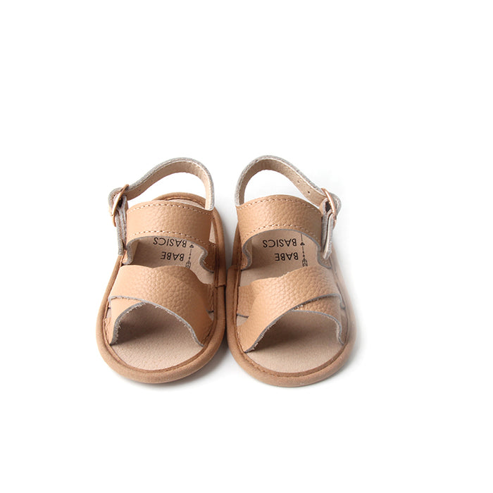 Strappy Leather Sandals - Babe Basics