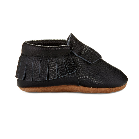 Signature Leather Moccasins -  ONYX