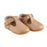 Soft-Sole Leather Mary Jane Moccasins - CARAMEL - Babe Basics