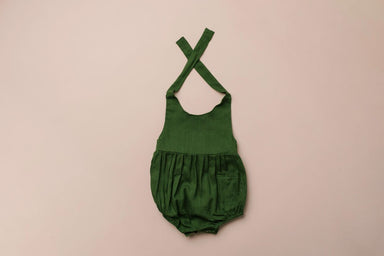 Green Pocket Romper