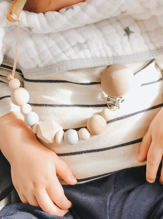 Handmade Natural Wood Dummy Chain