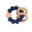Navy Teething Rattle