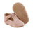 Soft-Sole Leather Mary Jane Moccasins - BLUSH - Babe Basics