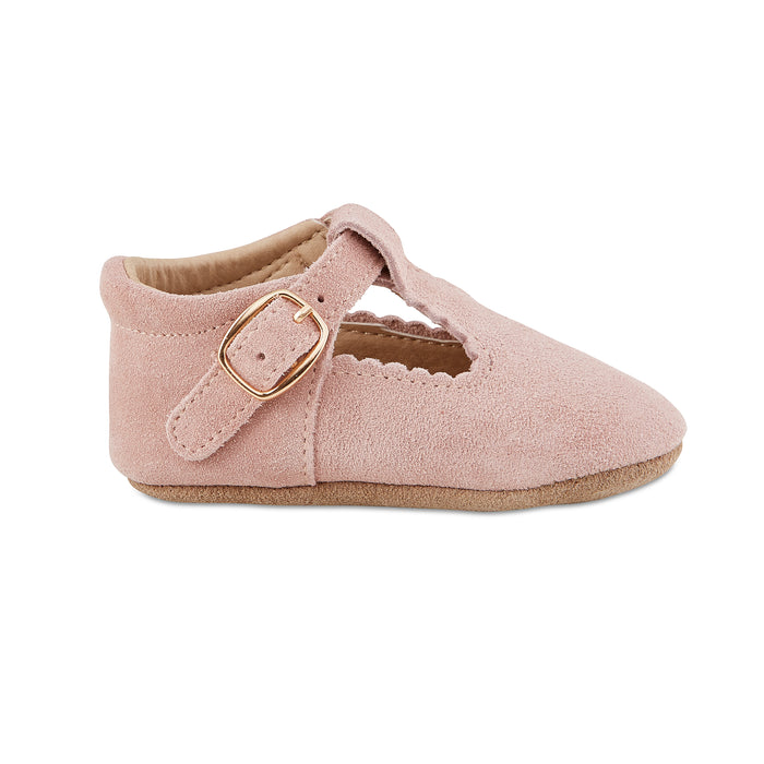 Soft-Sole Leather Mary Jane Moccasins