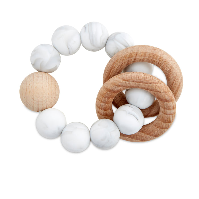 Marble Teething Rattle