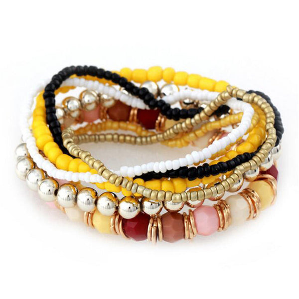 Handmade Multi-layer Bracelets - Free Shipping