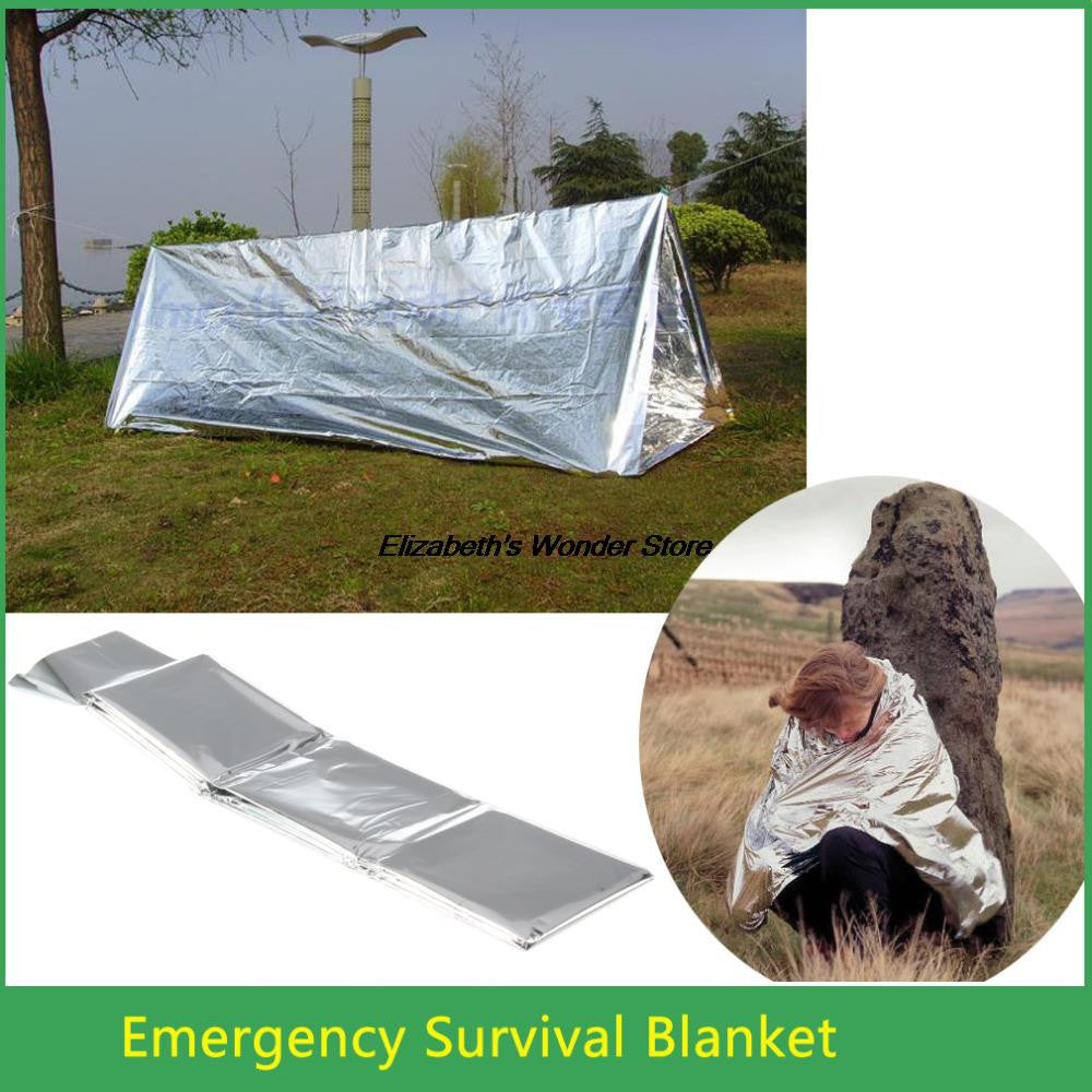 New Emergency Survival Waterproof Rescue Blanket- Quality 11.11 - Free Shipping