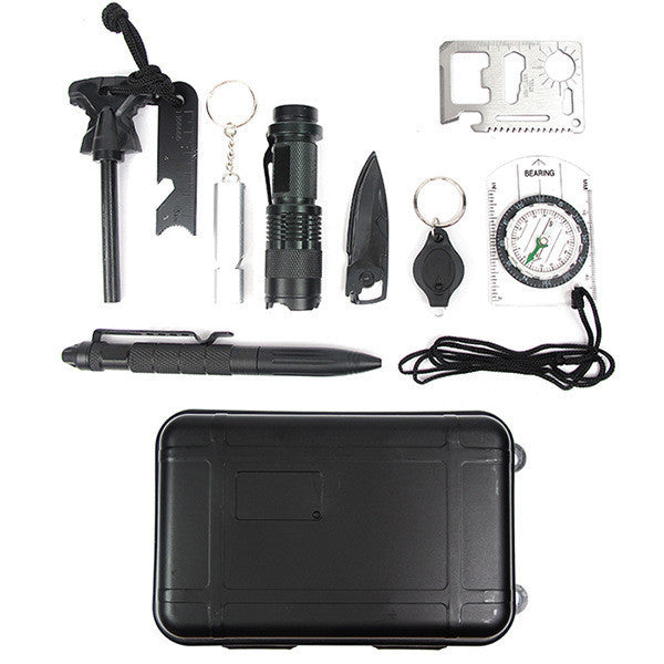 Emergency Survival Kits 10 in 1 - Free Shipping