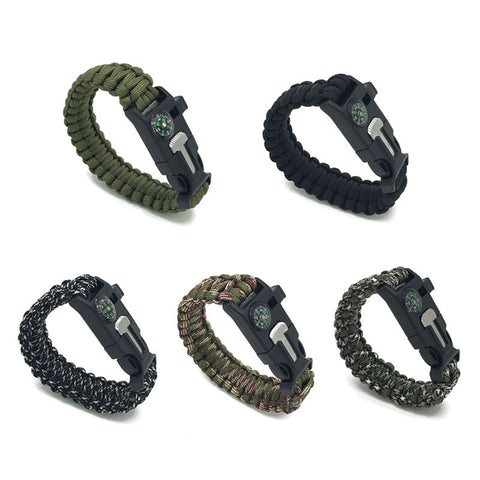 Paracord Survival Bracelet - Free Shipping