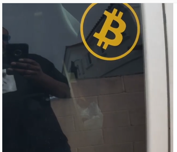 Bitcoin and CUSTOM Car Decals.