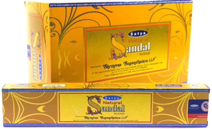 Natural Sandal 180 Gram Box- Satya Sai Baba Incense