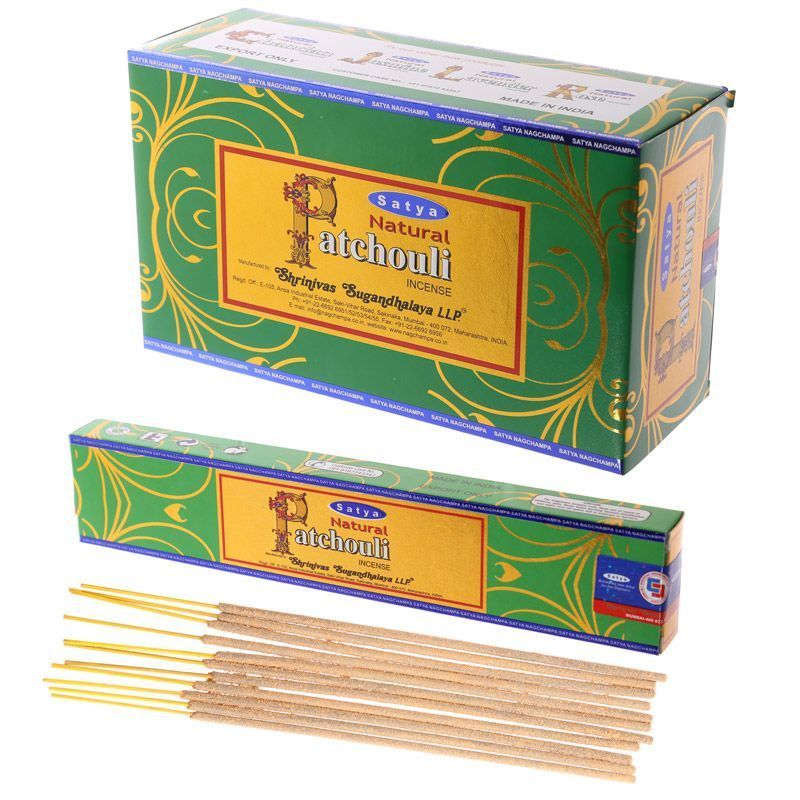 Patchouli 180 Gram Box- Satya Sai Baba Incense