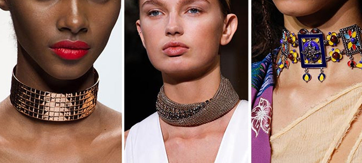 Wear a choker and add a stylish touch to your look!