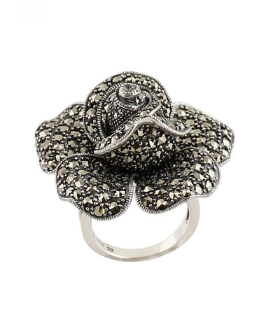 big-ring-flower-money-and-marcasites creator art deco profile
