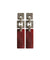 Carnelian art deco earrings in silver and marcasites